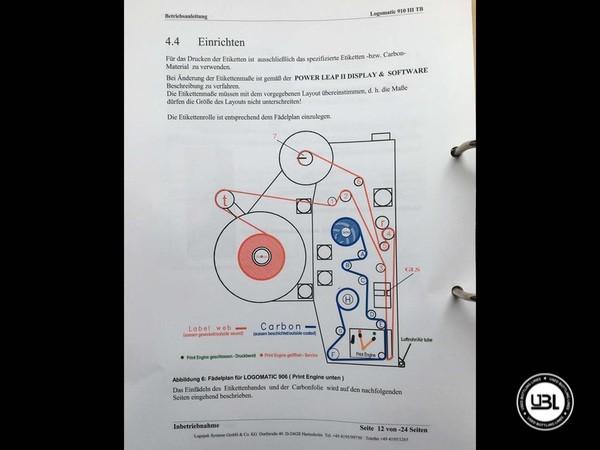 Rotuladoras LOGOPACK LOGOMATIC III 910 TB – Tray Labeler - 2
