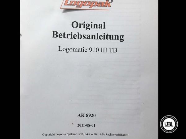 Rotuladoras LOGOPACK LOGOMATIC III 910 TB – Tray Labeler - 4