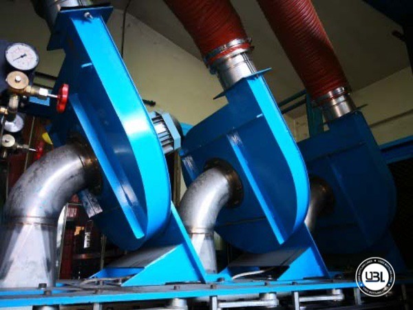 Used Blow Molding Machine Sipa SF 8/4 - 17