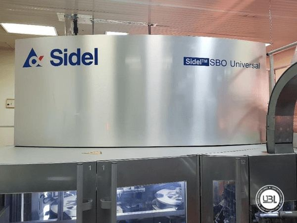Used Blow Molding Machine Sidel SBO10/14 - 2