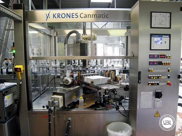 Rotuladoras Krones Canmatic - 2