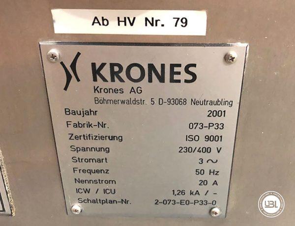 Rotuladoras Krones Canmatic - 8
