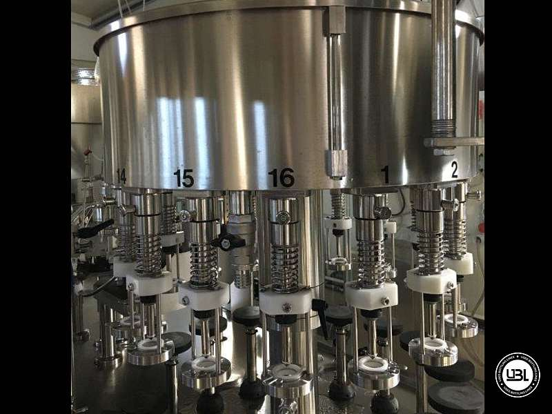 Used Filling Machine  Fimer SDRT 16.1-16-1S.VA 2000 bph year 2016 - 5