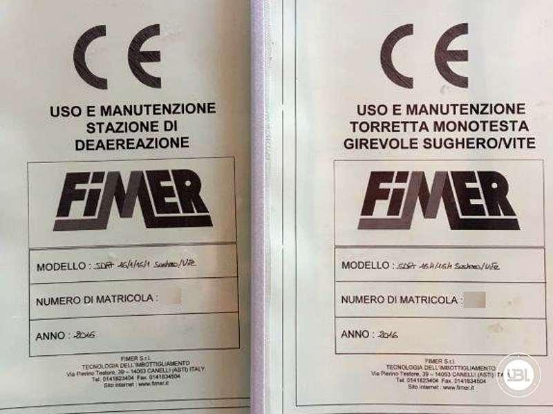 Used Filling Machine  Fimer SDRT 16.1-16-1S.VA 2000 bph year 2016 - 9