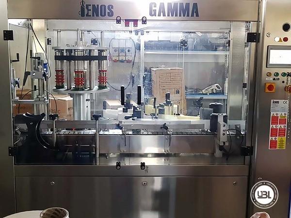 Used Bottle Labeler Enos GAMMA 2000 bph year 2017 - 3