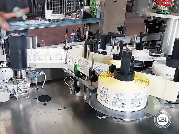 Used Bottle Labeler Enos GAMMA 2000 bph year 2017 - 6