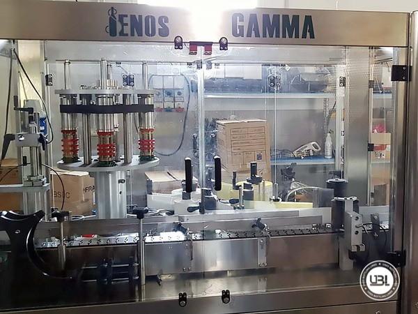 Used Bottle Labeler Enos GAMMA 2000 bph year 2017 - 9