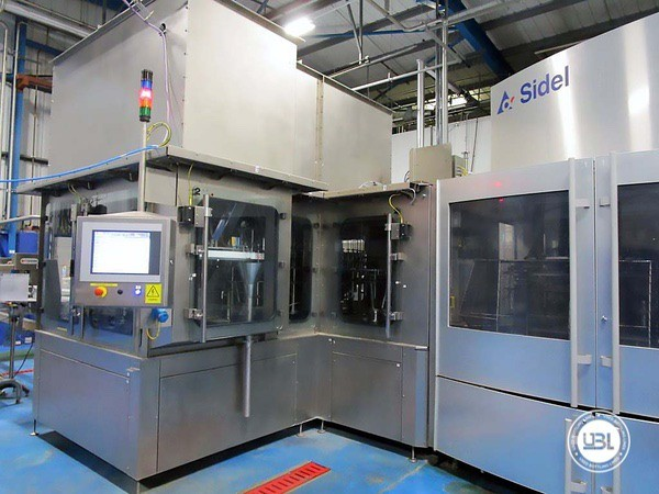 Used Blow Molding Machine Sidel SBO 20 Universal – Europa WM Combi Filler/Capper Bloc - 1