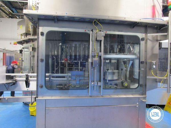 Used Blow Molding Machine Sidel SBO 20 Universal – Europa WM Combi Filler/Capper Bloc - 14