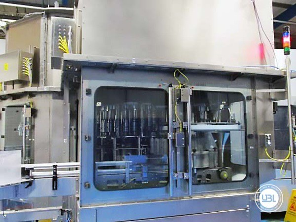 Used Blow Molding Machine Sidel SBO 20 Universal – Europa WM Combi Filler/Capper Bloc - 15