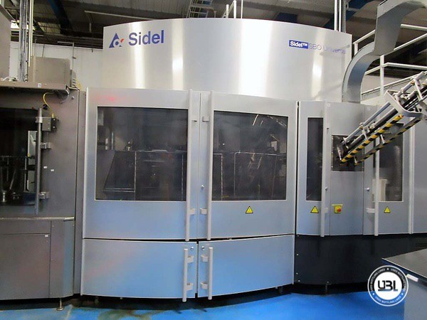 Used Blow Molding Machine Sidel SBO 20 Universal – Europa WM Combi Filler/Capper Bloc - 2