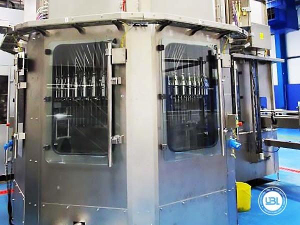 Used Blow Molding Machine Sidel SBO 20 Universal – Europa WM Combi Filler/Capper Bloc - 24