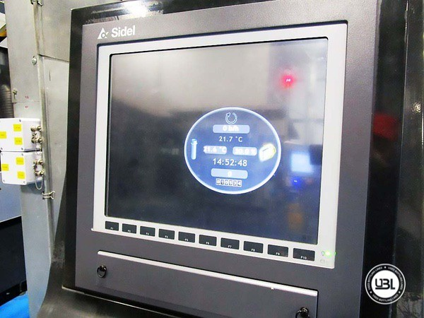 Used Blow Molding Machine Sidel SBO 20 Universal – Europa WM Combi Filler/Capper Bloc - 4