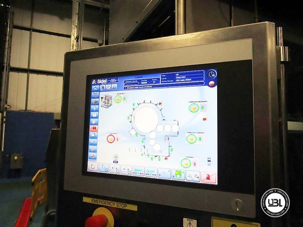 Used Blow Molding Machine Sidel SBO 20 Universal – Europa WM Combi Filler/Capper Bloc - 5