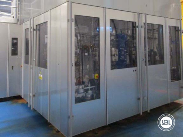 Used Blow Molding Machine Sidel SBO 20 Universal – Europa WM Combi Filler/Capper Bloc - 7
