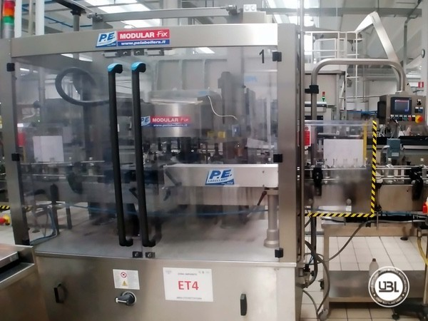Complete Glass Line for Sparkling Water, Water - 20