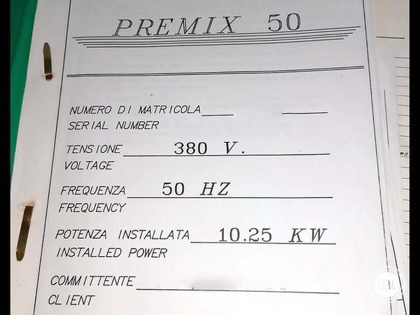 Used Premix BC PREMIX 50 - 6