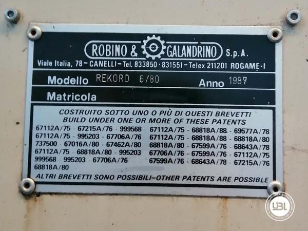 Gaioladora Robino & Galandrino REKORD 6/80 - 6