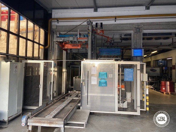 Used Complete Glass Line Isobaric for Sparkling Wine, Spumante, Still Wine 6500 Bph - 1