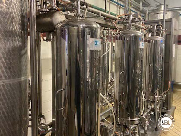 Used Complete Glass Line Isobaric for Sparkling Wine, Spumante, Still Wine 6500 Bph - 10