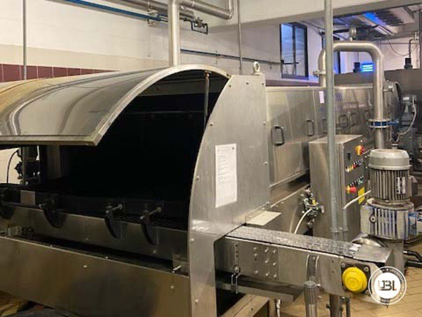 Used Complete Glass Line Isobaric for Sparkling Wine, Spumante, Still Wine 6500 Bph - 12