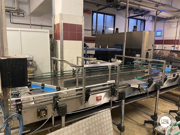 Used Complete Glass Line Isobaric for Sparkling Wine, Spumante, Still Wine 6500 Bph - 14