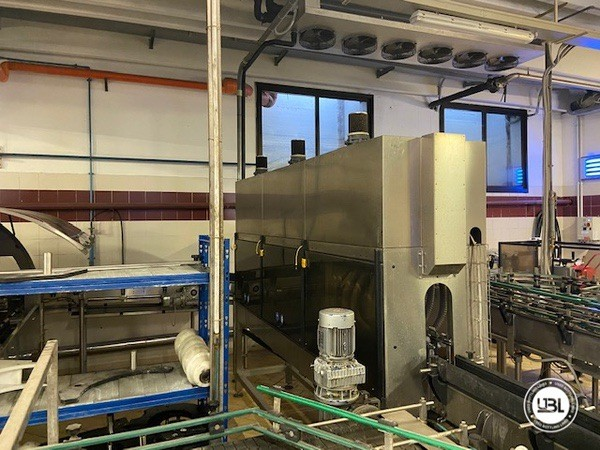 Used Complete Glass Line Isobaric for Sparkling Wine, Spumante, Still Wine 6500 Bph - 15