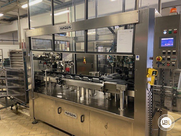 Used Complete Glass Line Isobaric for Sparkling Wine, Spumante, Still Wine 6500 Bph - 17