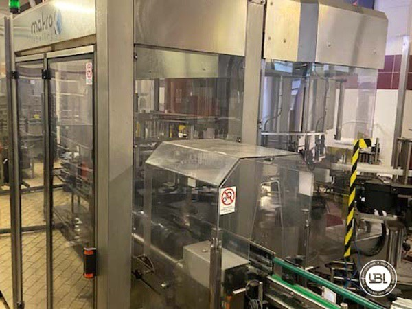 Used Complete Glass Line Isobaric for Sparkling Wine, Spumante, Still Wine 6500 Bph - 19
