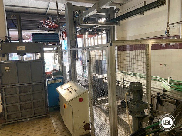Used Complete Glass Line Isobaric for Sparkling Wine, Spumante, Still Wine 6500 Bph - 2