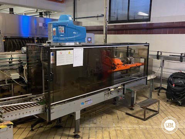 Used Complete Glass Line Isobaric for Sparkling Wine, Spumante, Still Wine 6500 Bph - 20