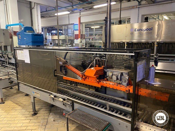 Used Complete Glass Line Isobaric for Sparkling Wine, Spumante, Still Wine 6500 Bph - 21