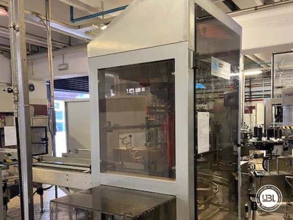 Used Complete Glass Line Isobaric for Sparkling Wine, Spumante, Still Wine 6500 Bph - 23