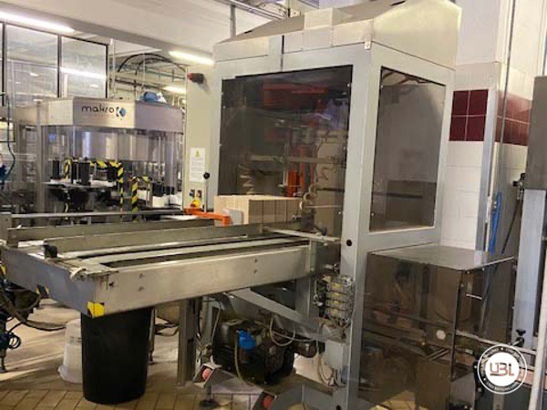 Used Complete Glass Line Isobaric for Sparkling Wine, Spumante, Still Wine 6500 Bph - 24