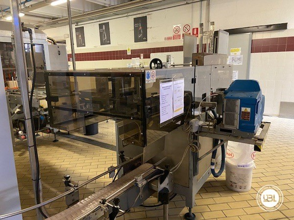 Used Complete Glass Line Isobaric for Sparkling Wine, Spumante, Still Wine 6500 Bph - 25