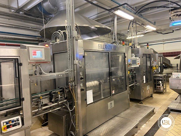 Used Complete Glass Line Isobaric for Sparkling Wine, Spumante, Still Wine 6500 Bph - 4