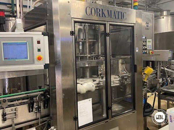 Used Complete Glass Line Isobaric for Sparkling Wine, Spumante, Still Wine 6500 Bph - 5
