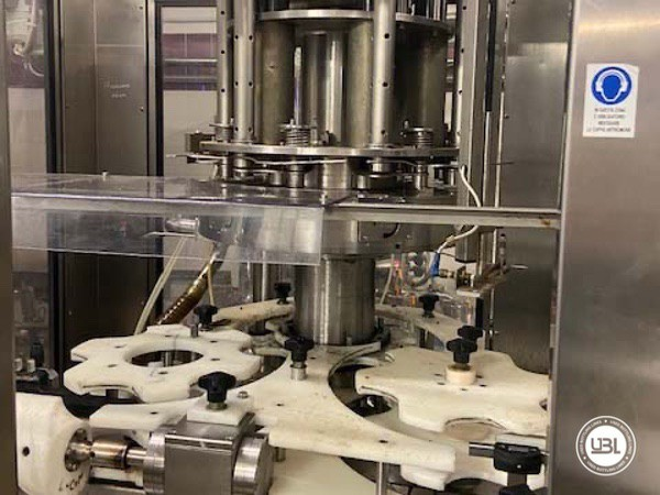 Used Complete Glass Line Isobaric for Sparkling Wine, Spumante, Still Wine 6500 Bph - 6