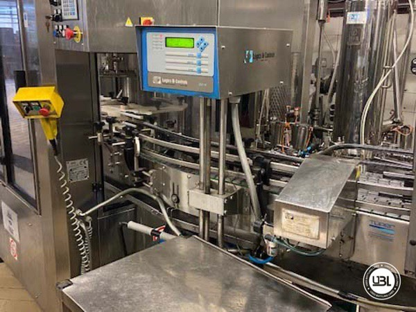 Used Complete Glass Line Isobaric for Sparkling Wine, Spumante, Still Wine 6500 Bph - 7