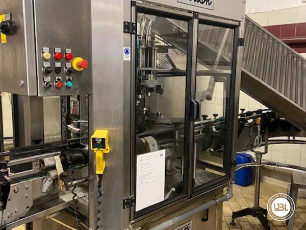 Used Complete Glass Line Isobaric for Sparkling Wine, Spumante, Still Wine 6500 Bph - 8