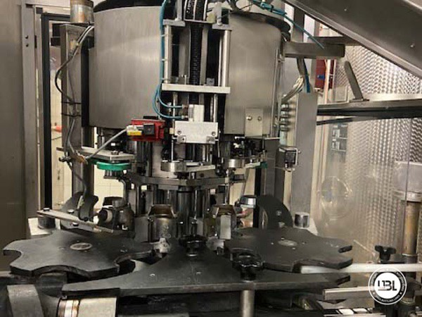 Used Complete Glass Line Isobaric for Sparkling Wine, Spumante, Still Wine 6500 Bph - 9