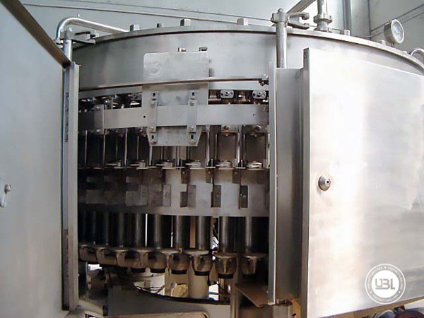 Used Isobaric Filling Monoblock Simonazzi CSD 60/20 - 4
