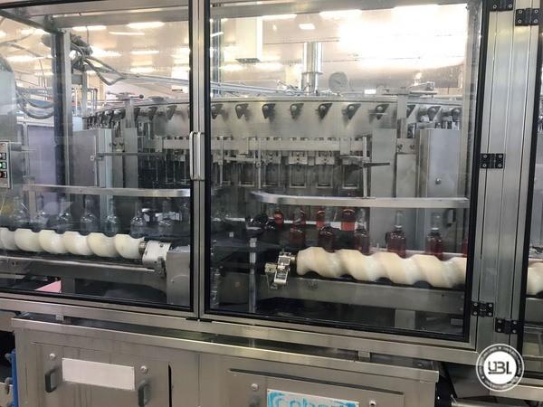 Used Isobaric Filling Machine Bertolaso S84001 12000 bph - 9