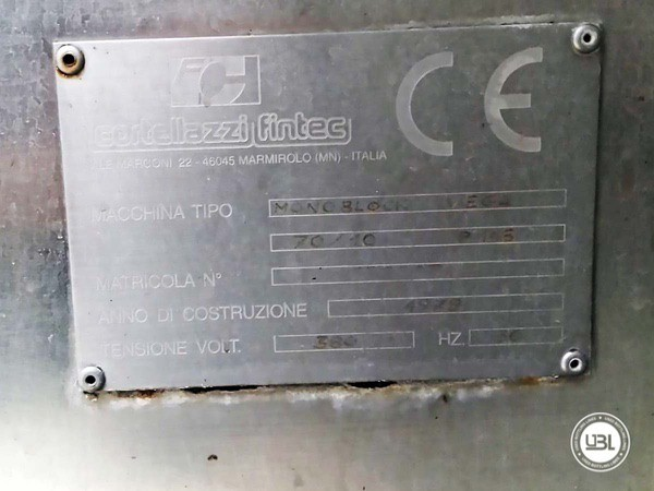Monoblocos de Enchimento Cortellazzi VEGA 70/10 - 5
