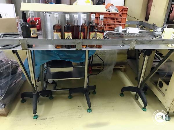 Used Complete Bottling Line for Alcohol, Glass Bottles 1500 bph - 11