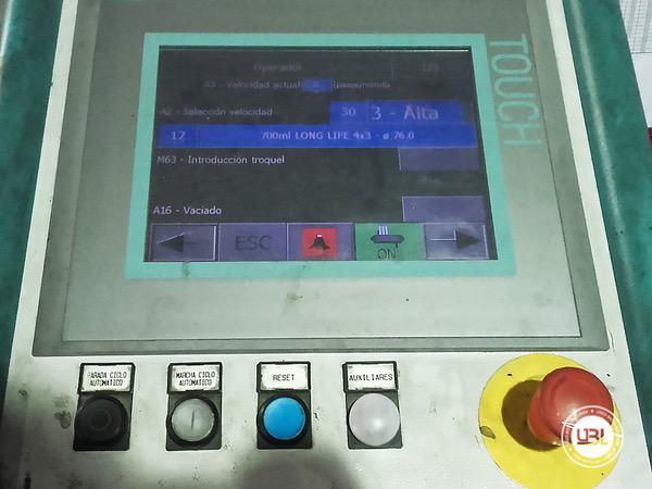 Armadora de caixa OCME Altair N40 - 8