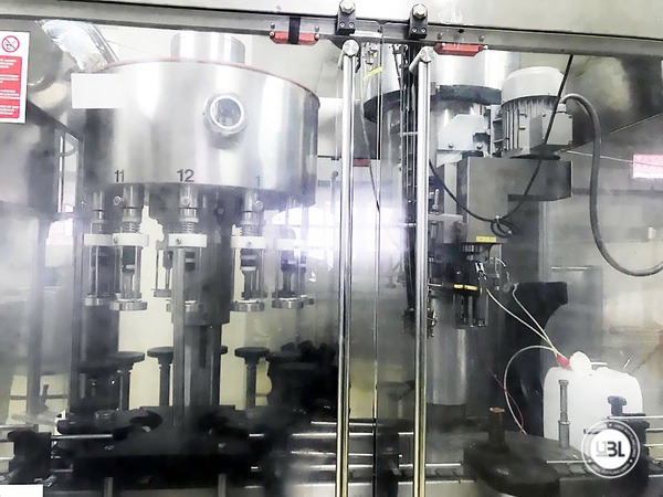 Used Complete Bottling Line for Alcohol, Glass Bottles 1500 bph - 5