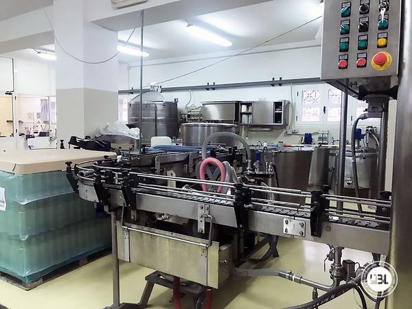 Used Complete Bottling Line for Alcohol, Glass Bottles 1500 bph - 7