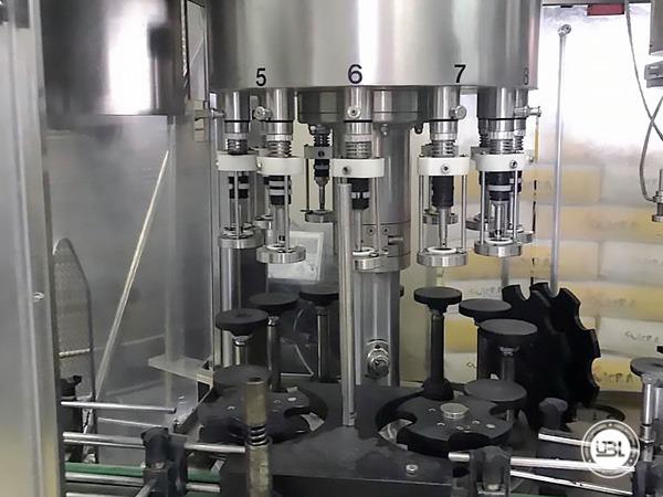 Used Complete Bottling Line for Alcohol, Glass Bottles 1500 bph - 9