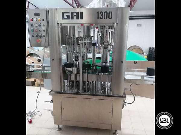 Used Filling Monoblock GAI 1300-42-S01 - 2